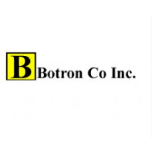 "Botron Wrist Strap Set Black Hook/Loop With Standard 6' Cord 1/8"" (4mm) Snap"