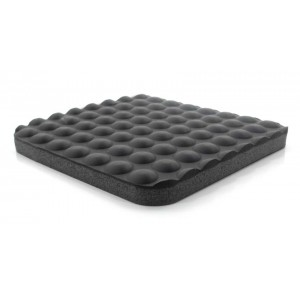 "B4723HD Botron Type RC Relax Comfort Anti-Fatigue Rubber Mat 2'x3'x5/8"" Black Conductive Heavy Duty W/Snap & Ground Cord"