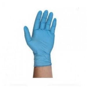 "4BQF09-L QRP Qualatrile™ ESD-Safe Nitrile 9"" Gloves 4mil Powder-Free Disposable Grade Color: Blue Size: Large 100/Box"