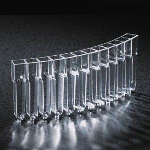 5121-5121-Globe Scientific Cuvette, for use with Cobas Mira, Mira S, Mira Plus and Horiba ABX Mira Plus analyzers Individually Wrapped-gs5121
