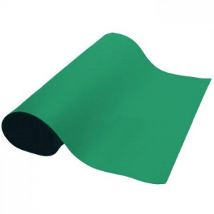 "ACR4840GN ACL Dualmat™ 2-Layer Diss/Cond Rubber Roll 48""x40' Green /Black RoHS Compliant - No Snaps or Cord"