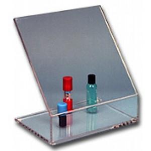 "S-Curve Cleanroom Laboratory Biohazard Shield 10""Wx10""Hx6""Dx3/8""Thick Clear Acrylic"