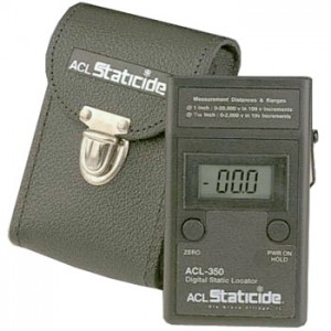 ACL350 *ACL Non-Contact Digital Static Meter with Carrying Case NIST Certified