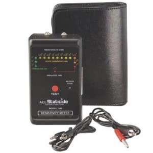 ACL380  ACL Staticide  Pocket Size Surface Resistivity Meter with Carrying Case ESD-Safe