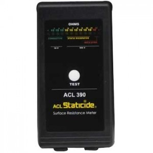 ACL Staticide Surface Resistance Meter With Cord & Carrying Pouch