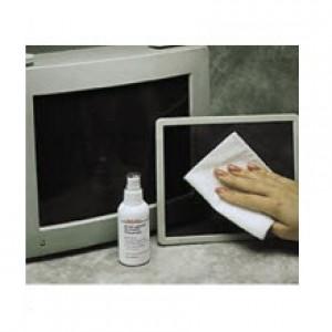 8040 ACL Staticide  Anti-Glare Screen Cleaner 4 oz Bottle w/Finger Tip Sprayer