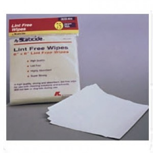 "ACL8044 ACL Staticide Lint Free  6""x6"" Wipes"