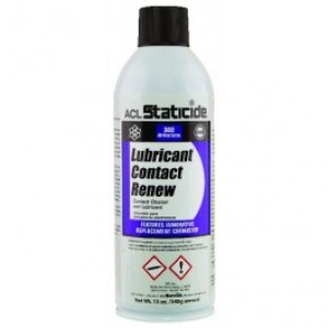 8606 ACL Staticide Lubricant Contact Renew 12oz. Aerosol Can 12/case