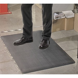 "Transforming Technologies FM248720BR ESD-Safe Standard Anti-Fatigue Roll PVC 4'x60'x3/8"" Color: Brown (VSP)"
