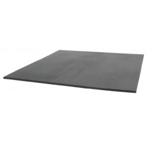 "B5723HD Botron Type CSA Smooth Anti-Fatigue Vinyl Mat 2'x3'x1/2"" Black Conductive Heavy Duty W/Snap & Ground Cord"
