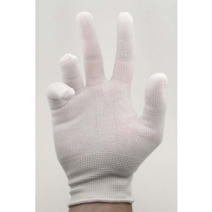 Botron B6831M Inspection Gloves - Lint Free Nylon (10ct)