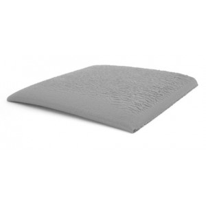 "B7023 Botron Type TS Vinyl/Rubber Anti-fatigue Mat 2'x3'x3/8"" Dissipative W/Beveled Edges Color: Gray"