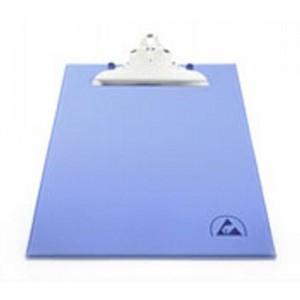 """Botron ESD-Safe Clipboard 9""""x12"""" W/ESD Symbol Color: Blue"""