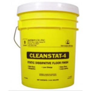 B8101  Botron Clean Stat 4 ESD Floor Finish 1Gallon 4Gallons/Case