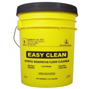 Botron Cleanstat® ESD Easy Clean Floor Cleaner 5-Gallon Pail