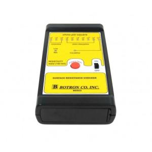 B8562 Botron Surface Resistance Meter LED 100 Volt Megohm With 2 Parallel Probes