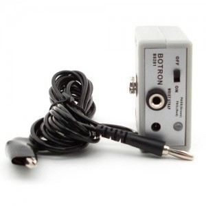 B9201 Botron Continuous Single Wire Monitor For (1) Operator 6.5 Meg Includes 110V AC Adapter