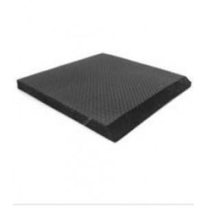"""BEM320 Botron Type EM Sponge Rubber Floor Roll  3'x20'x5/8"""" Black Conductive"""