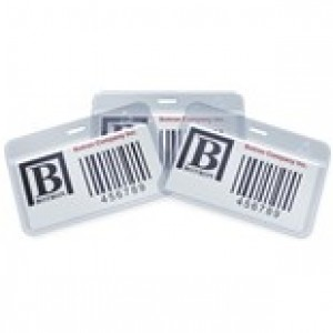 "Botron ESD-Safe ID Card Holder Anti-Static 2.5""x4"" Vertical No Clip 200/Pack"
