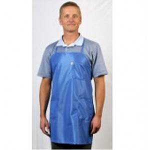 BIA-63 Tech Wear ESD-Safe Apron BBQ-Style IVX-400 Fabric With 3-Pockets One-Size-Fits-All