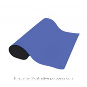 "B61350 Botron Type T2 Rubber 2-Layer Roll 36""x50'x.0.60"" Color: Blue"