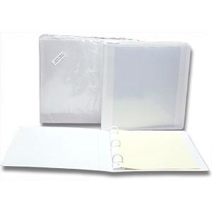 "Unitek Binder 1"" Cleanroom  3-Ring 75Ga High  Density Polyethylene Color: White Only *10 Minimum*"
