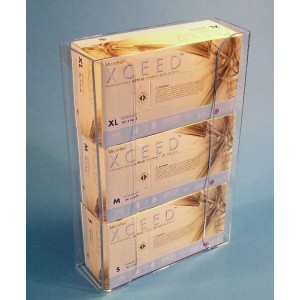 EBD-3000 S-Curve Cleanroom Exam Glove Dispenser