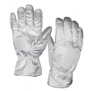 "Transforming Technologies FG2602 ESD-Safe Cleanroom High Temp Nomex® Gloves 572Deg F Unisex 11""L Size: Medium (VSP)"