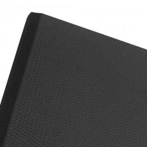 "FM62436BK Transforming Technologies Comfort GEL Cleanroom Anti Fatigue ESD-Safe Mat, 2 x 3'x5/8"" Color: Black"