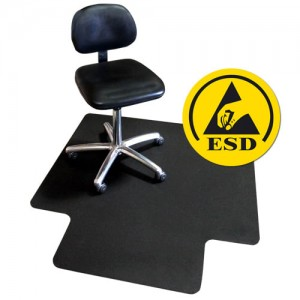 fm7 Series-transforming-technologies-ESD VinylStat Rigid Conductive Chair Mat