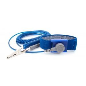 "B2508 Botron ""GEM"" Sapphire Coil Cord 6' Standard 1/8"" Snap 1 Meg Resistor"