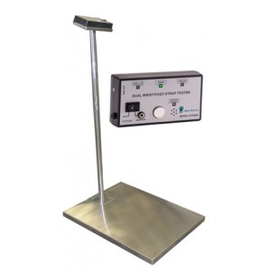Transforming Technologies GTS600 Wrist Strap/Footwear Combo ESD Tester With Stand & Foot Plate (VSP)