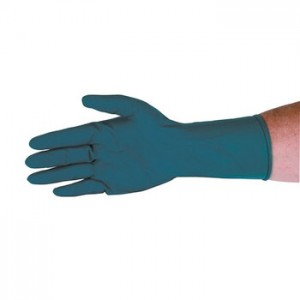 "QRP Qualatex® Miracle Grip™ High Risk 12"" Latex Glove 13mil Powder-Free"