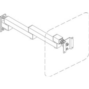 QS-01620-1916 IAC Industries Quick Ship Packaging Stations (PS) Flat Panel Display Swing Arm Universal