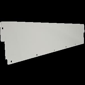 QS-01263-3072 IAC Industries Quick Ship Packaging Accessory Stations (PAS) Upper Shelf Backsplash 12HX72L