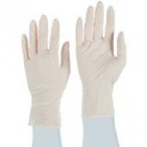 "Q125-XS QRP Qualatrile™ ESD Cleanroom 12"" Nitrile Glove 5mil Powder-Free Class 100 Color: White Size: X-Small 100/Double Bag"