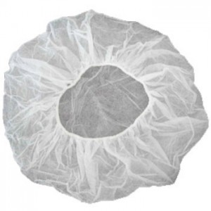 """Epic Cleanroom Disposable 19"""" Bouffant White Polypropylene *Latex Free* 1000/Case"""