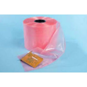 "VSP 4""x.004 Pink Anti-Static Tubing Polyethylene Amine Free 750'/Roll"