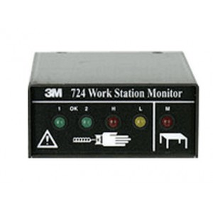 TM724 3M™ Continuous Workstation  Monitor for 3M Dual Conductor Wrist Straps (VSP
