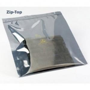 V150-0203 VSP Static Shielding 2x3 Zip Lock Bag Metal-In 100/Case