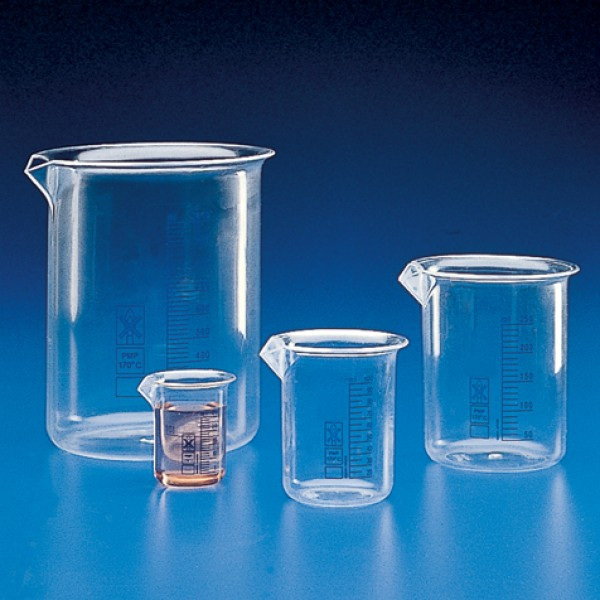 601724 globe scientific gs601724 beaker griffin style low form 500ml
