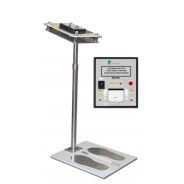 Transforming Technologies Tester Stand Without Foot Plate for Ohm Metrics™ PDT Wrist Strap/Footwear Combo ESD Testers (VSP