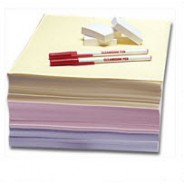 Clean-Write Paper 8.5x11 Cleanroom Impregnated & Coated with Polymer Formula Color: White 250Sheets/Ream 5Reams/Case