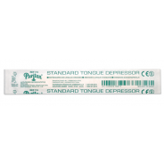 "Puritan Standard 6""x0.688"" Wood Tongue Depressor Non-Sterile 250 Individually Wrapped/Box 10Boxes/Case"