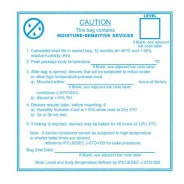 3M 113LABEL Labels - Moisture Warning