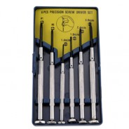 #12222 Jewelers Phillips and Slotted Screwdriver Set, 6 pc