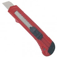 #12513  #13 Heavy Duty Knife with Flat Plastic Snap Blade