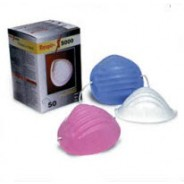 Respir-X Dust Cone  Face Mask  Color: White  50/Box