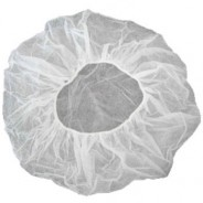 "Epic Cleanroom Disposable 24"" Bouffant White Polypropylene *Latex Free* 500/Case"