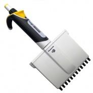 3345-50 Globe Scientific GS3345-50 Diamond Advance™ Pipette 12-Channel Fully Autoclavable Adjustable Volume 5-50uL Color: Yellow